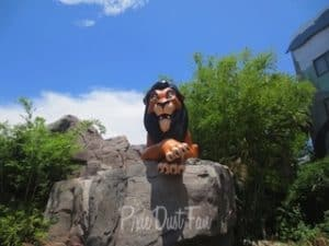 Art of Animation Resort Scar