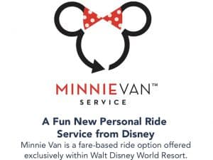 Minnie Van At Walt Disney World