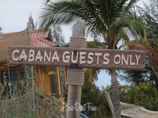 Castaway Cay Cabana Rental