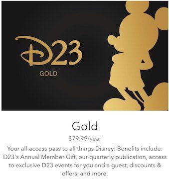 D23 Gold Member
