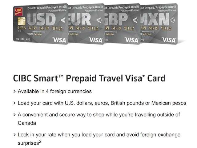 CIBC Prepaid USD Visa
