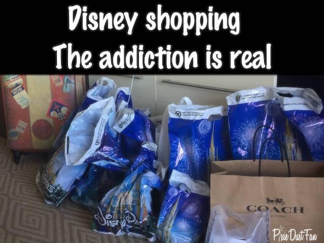 Disney Shopping Addiction