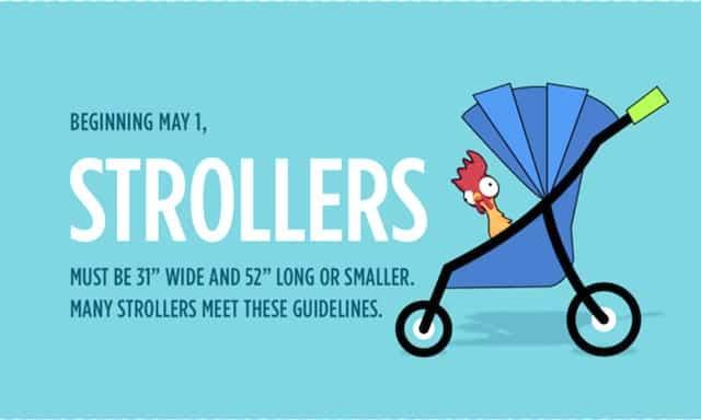 Stroller Size Disney