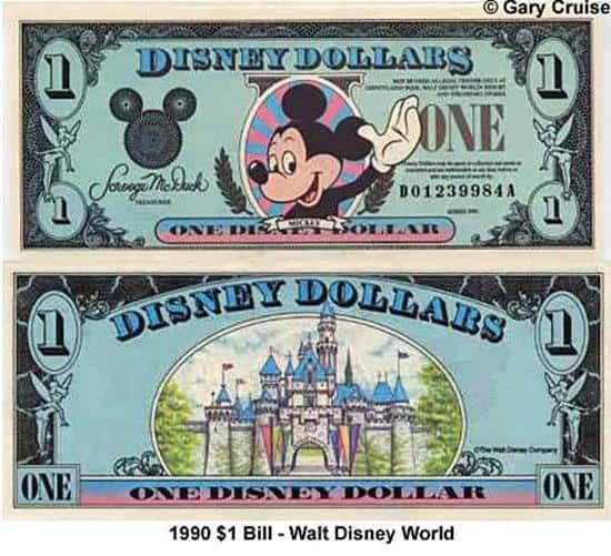 1990 $1 Bill D