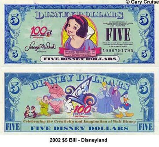 2002 $5 Bill A