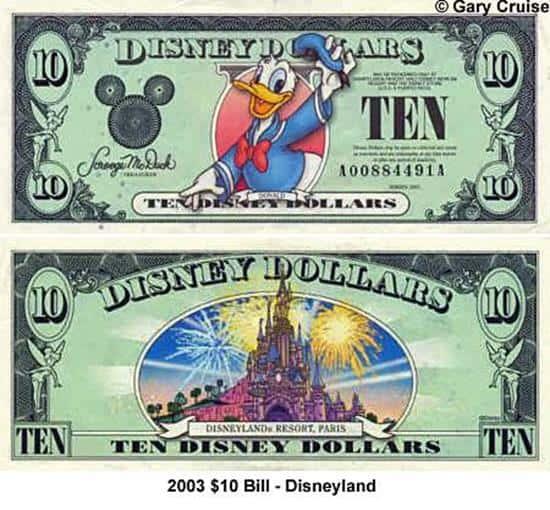 2003 $10 Bill A