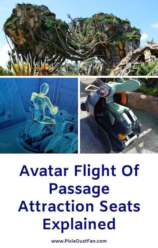 Avatar Flight Of Passage Seats Explained