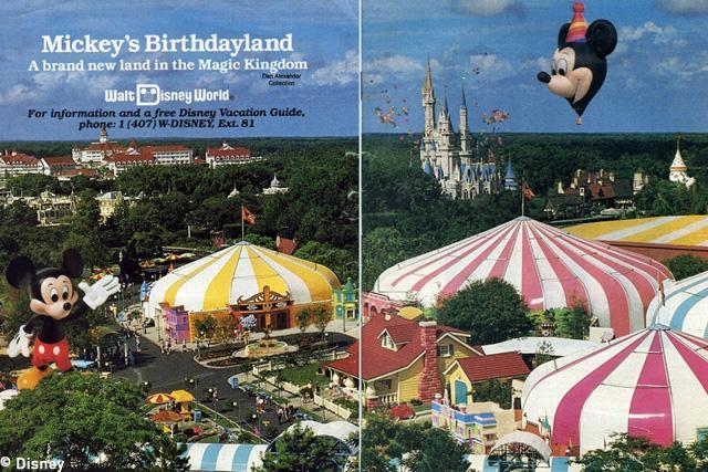 Mickey Birthdayland 1988