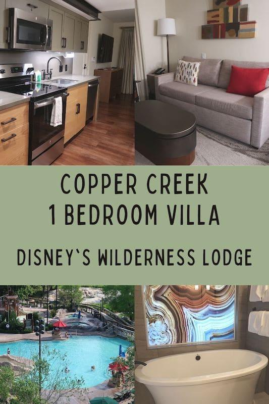 Disney\'s Copper Creek 1 Bedroom Villa