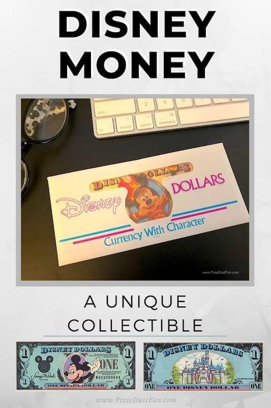 Disney Dollars – A Rare Disney Collectible!