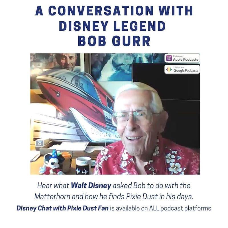 Disney Podcast Bob Gurr