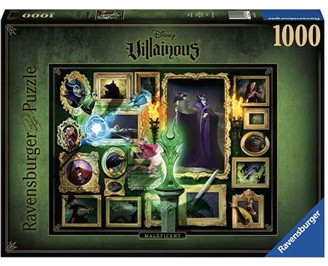 Disney Villainous Maleficent 1000 Piece Jigsaw Puzzle