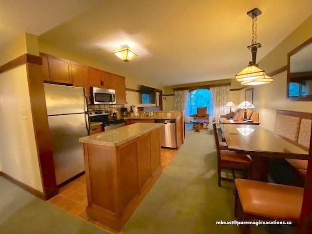 GCV 1 Bedroom kitchen dining