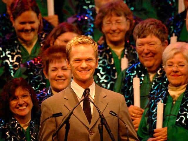 Neil Patrick Harris Candlelight Processional