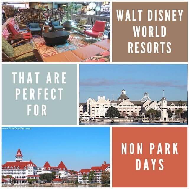 Aydin's Top 5 Walt Disney World Resorts For Non Park Days