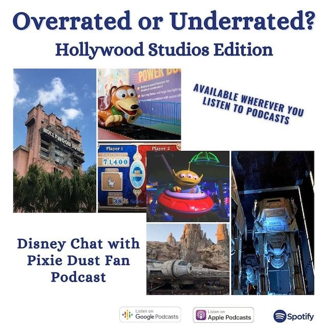 Podcast 78 – Overrated or Underrated at Disney's Hollywood Studios