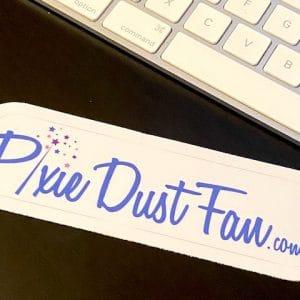 Pixie Dust Fan Sticker