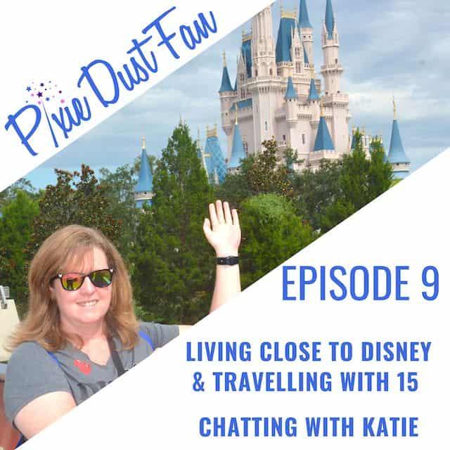 Disney Podcast Pixie Dust Fan