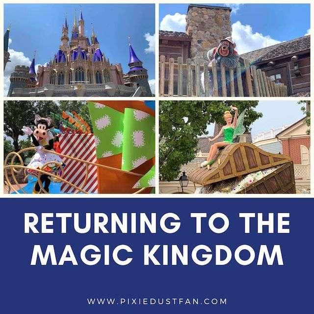 Podcast 53 – Returning To The Magic Kingdom