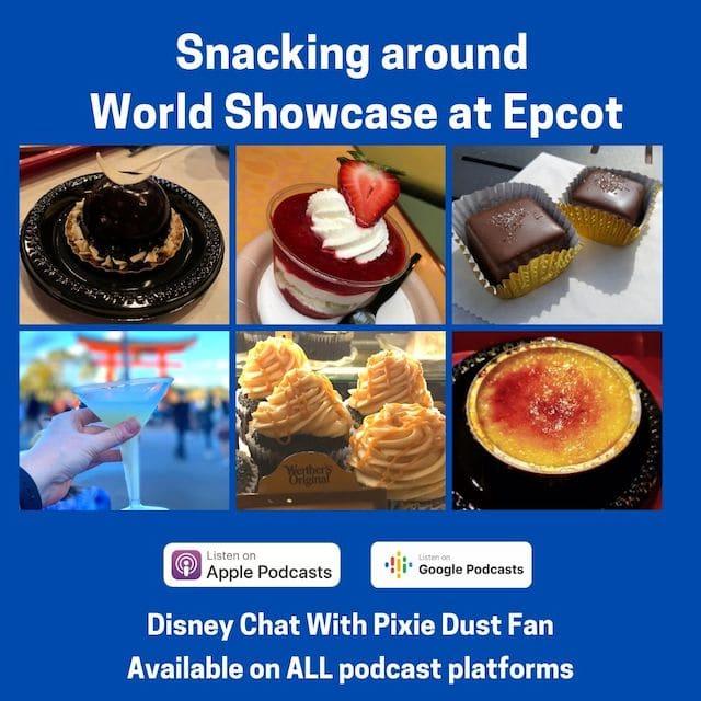 Snacking around World Showcase at Epcot