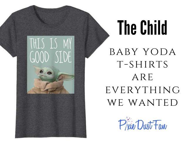 Baby Yoda T-shirts