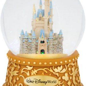 Walt Disney World Castle Musical Snowglobe